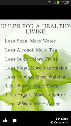 Simple living!
