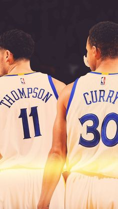 Stephen Curry and Klay Thompson wallpaper