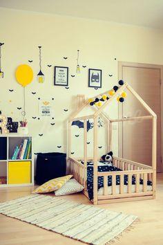 #baby #Bed #Boys #Children #hous #Montessori #room