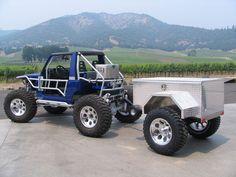 CUSTOM ALUMINUM ATV TRAILERS