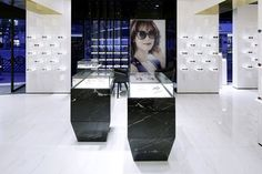 Bolon Eyewear store by Ippolito Fleitz Group - Shanghai China