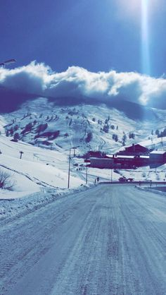 #snow #mountains #uludag #ıce #style