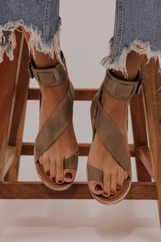 Item Type Strap Sandals Heel Height lt 1 inch Closure Type Slip On Outsole Mate Cute Shoes, Me Too Shoes, Look Boho Chic, Estilo Hippie, Fashion Flats, Fashion Clothes, Strap Sandals, Cloth Sandals, Open Toe Sandals
