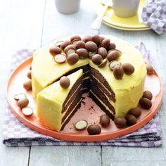 Een heerlijke taart met een verrassende combinatie van rode bieten en chocola…