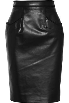 LOVE for FALL: Jason Wu Leather pencil skirt