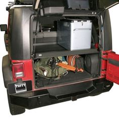 Tuffy - Security Deck Enclosure - Fits 2007 to 2010 JK Wrangler, Rubicon and Unlimited - 4WD.com