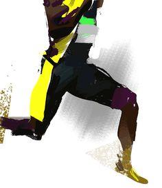 Frederic William Stewart - Usain Bolt
