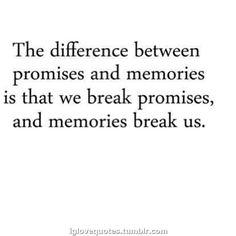 Promises & Memories