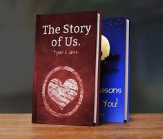 LoveBook is the most unique personalized gift idea you could ever give to someone you love.  Create your own personalized book of reasons why you love someone.  LoveBook is the perfect personalized gift for someone you love. Christmas ideas #christmas #Christmas