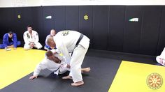 "The legendary Xande Ribeiro shows an open guard passing combination involving the ""x pass"" and the ""torreando"" pass."