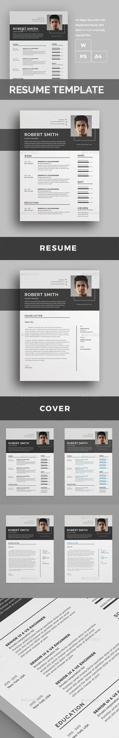#Resume - Resumes Stationery Download here: https://graphicriver.net/item/resume/18073123?ref=alena994