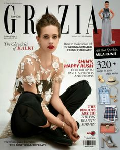 Kalki Koechlin is cover girl for Grazia India March 2014 issue Kalki Koechlin, Grazia Magazine, Cool Magazine, Magazine Covers, Indian Star, Vogue India, Spring Summer Trends, Lifestyle News, Indian Celebrities