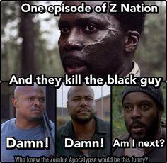 The Walking Dead / Z Nation funny meme