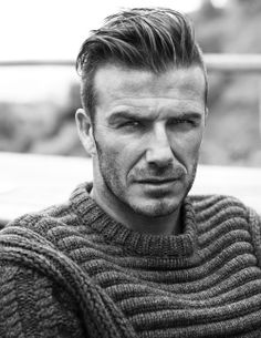 David Beckham by Josh Olins