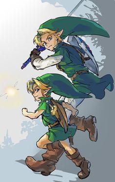 Legend of Zelda Ocarina of Time The Legend Of Zelda, Legend Of Zelda Breath, Game Character, Character Design, Demian Wayne, Ocarina Of Times, Hyrule Warriors, Link Zelda, Twilight Princess