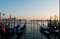 Venezia vicino al tramonto