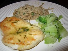Sauteed Chicken Breasts with Lemon Butter Pan Sauce
