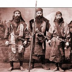 Ainu warriors