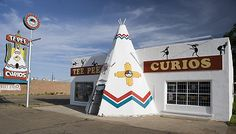 Tee Pee Curios on Square Market. We are the last remaining original curio shop in New Mexico. The Tee Pee Curios sits directly on Route 66 and we offer pottery, jewelry, Route 66 items, t-shirts, books and more. New Mexico Road Trip, Travel New Mexico, Mexico Vacation, Route 66 Road Trip, Pagosa Springs, Land Of Enchantment, Roadside Attractions, Travel Usa, Tee Pee