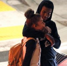 """Trevor Jackson and Zendaya! Too funny!!  To set the record straight, THEY ARE NOT DATING. (That I know of) They are not """"in love"""" or dating. Those are just rumors."""