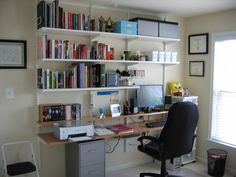simple, organized office