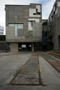 Rector Office at Vigo University Campus, Spain Enric Miralles & Benedetta Tagliabue EMBT