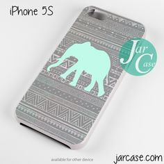 Cute Aztec Elephant Phone case for iPhone 4/4s/5/5c/5s/6/6 plus