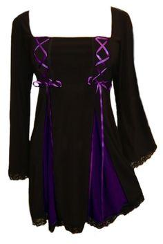 b2195e7c9ea Dare To Wear Victorian Gothic Women s Plus Size Gemini Princess Corset Top  Black