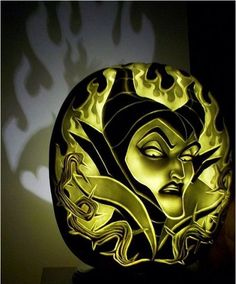 OMG SO COOL! Pumpkin Carving. check out the shadow it creates.