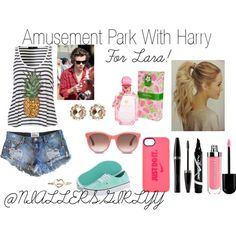"""""""Amusement Park With Harry"""" by niallersgirlyy on Polyvore"""