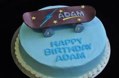 skateboard cake - Google Search