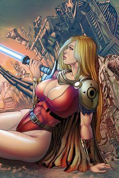 Sword of Justice 2 Variant Cover | Etsy Dark Ages, Veronica, Techno, Sword, Science Fiction, Comic Books, Wonder Woman, Princess Zelda, Comics