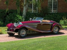 This 1938 Mercedes-Benz Special Roadster by Nawrocki goes to auction on Saturday, July Toyota Car Models, Toyota Cars, Classic Motors, Classic Cars, Carl Benz, Freight Truck, Ford Ltd, Classic Mercedes, Sports Car Racing