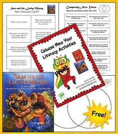 Free Chinese New Year Literacy Activities! Learning about the Chinese New Year will be fun for your students when they complete the two literacy activities in this packet!
