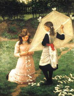 John Morgan ~ The Kite ~ (English: 1822-1885)