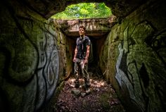 Jeff in Tunnel
