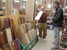 Woodcraft stores throughout the country, including the one on Bethel Road in Columbus, plan to take away any excuse servicemen and -women stationed abroad have for not writing home.