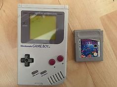 #Classic nintendo game boy #console & #tetris game bundle ,  View more on the LINK: 	http://www.zeppy.io/product/gb/2/272302970233/