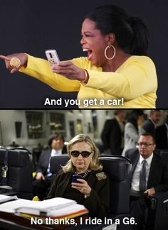 texts from hillary...