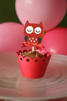 valentines day owl party pack.