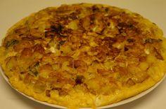 Tortilla de pomme de terre facile et rapide (CUISINERAPIDE)