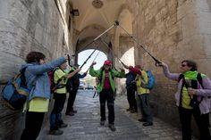 Guillermo Nagore llega a Jerusalén en su caminata contra el alzhéimer