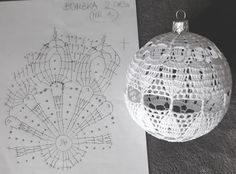 Crochet Snowflake Pattern, Crochet Edging Patterns, Crochet Stars, Crochet Snowflakes, Crochet Diagram, Crochet Motif, Christmas Tree Baubles, Crochet Christmas Ornaments, Christmas Crochet Patterns