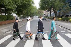 Brompton Folding Bicycle advertisement #abbeyroad #100BestBikes