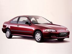 Honda Civic Coupe...not sure what years but I had a red one for a month and then a black one (maybe a 93 and a 90?)
