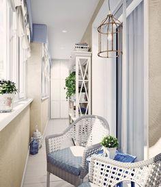 Балкон в стиле Прованс : Балконы и веранды в эклектичном стиле от Анна Теклюк