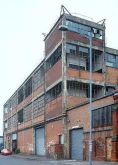 Birmingham, Armour Road, BSA Factory