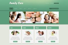 Family Care - Joomla Theme by ASDesigning on @creativemarket