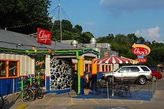 THE Chuy's on Barton Springs Rd. in Austin, Texas. The Chuy's, the original! None of the others can compare. I and miss you my sweet ATX! Places To Eat, Great Places, Places Ive Been, Restaurants, Vegan Cake, Tex Mex, Austin Food, Vacation, Kitchens