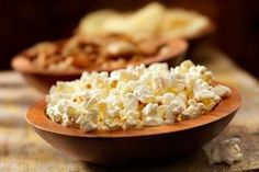 Popcorn over Potato Chips especially if you have diabetes. Easier/cheaper/usually less fattening to pop own if done right. Tells how to cook it in microwave/stovetop/air popper.  Spices optional.